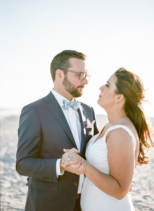 Coastal wedding at The Inn at Folly Beach by Peper Events