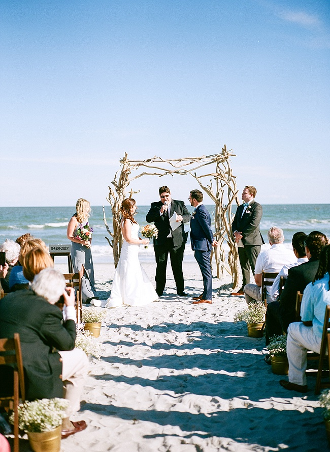 Folly Beach Wedding At Pelican Watch Shelter A Lowcountry