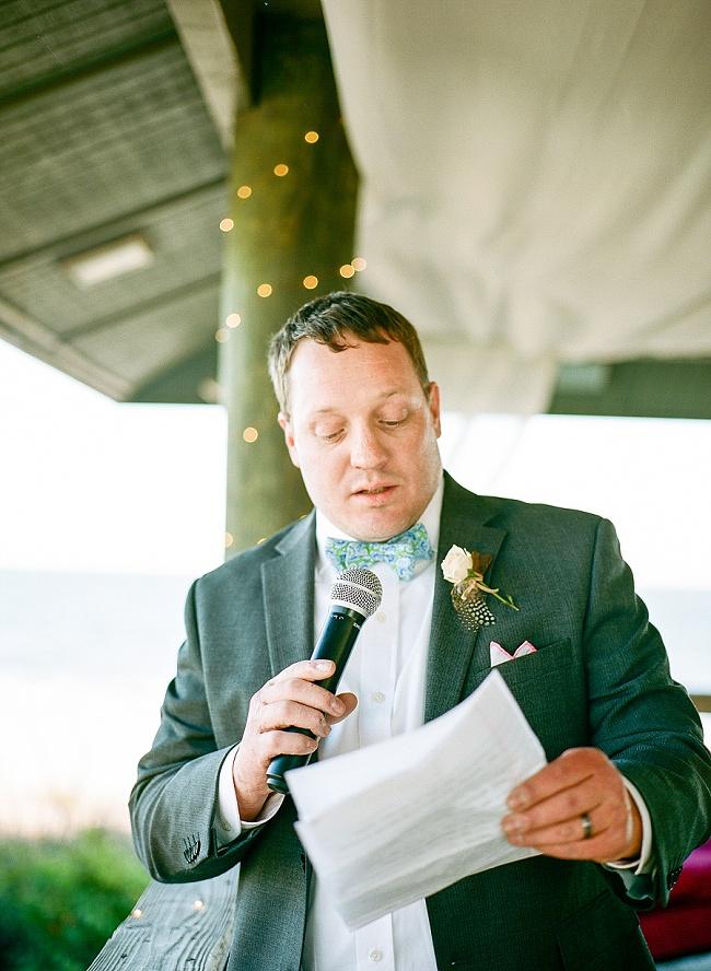 Beach wedding at The Inn at Folly Beach by sMm Photography