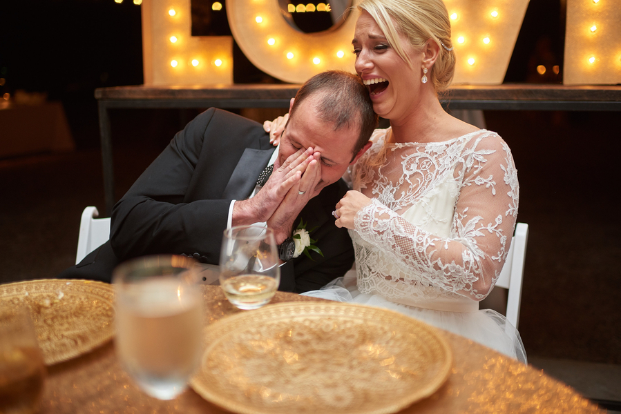 Gold Lowcountry wedding at The Island House