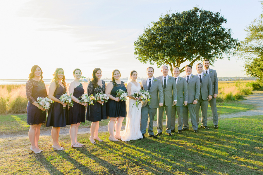 Neutral Alhambra Hall wedding in Charleston, SC by Boutique Planning
