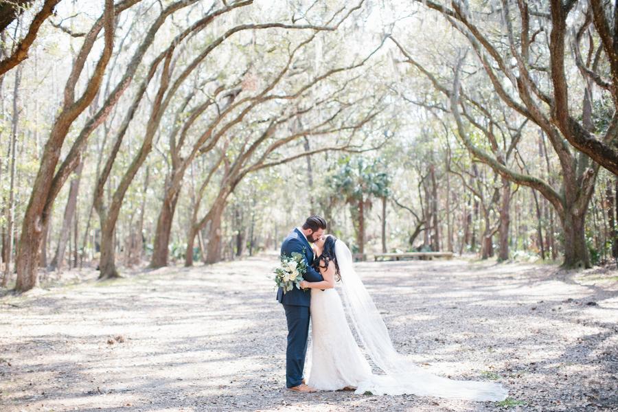 Wormsloe Plantation wedding in Savannah, Georgia