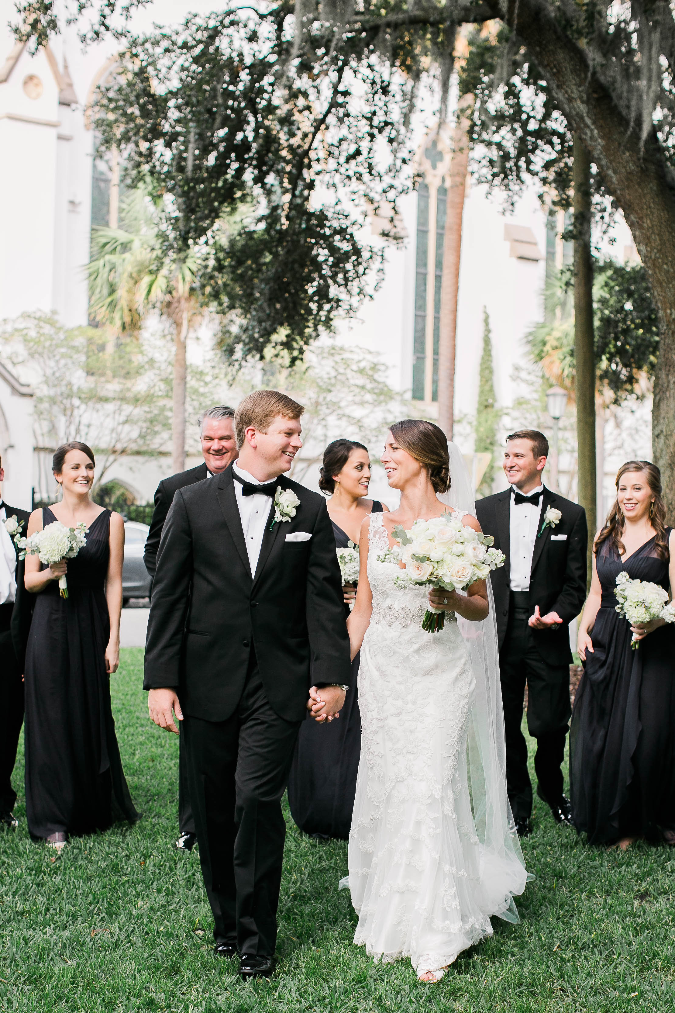 Navy & White wedding in Savannah, Georgia by JB Marie Photography