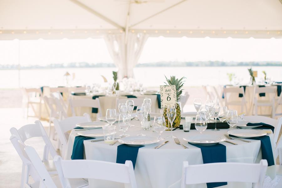 Pineapple Wedding Decor