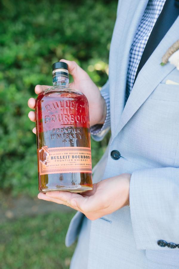 Southern wedding tradition - Burying the Bourbon