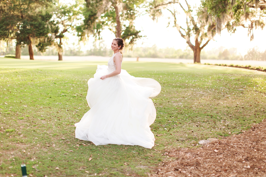 Caledonia Golf & Fish Club wedding portraits by Stephanie Gore Photography