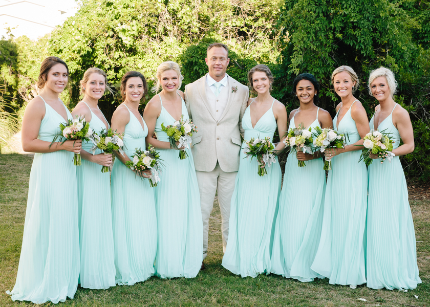 Mint Wild Dunes Resort Wedding by Brandy Angel Photography