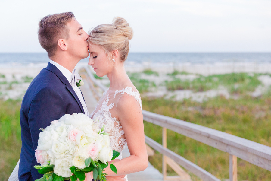 Ocean Creek Golf course wedding at Fripp Island Resort