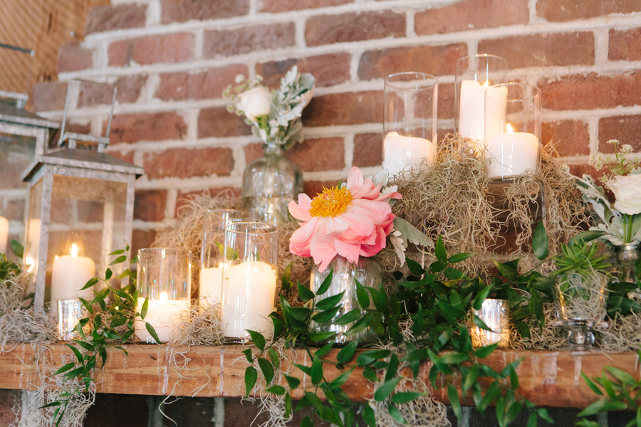 Rustic Southern wedding at The Cotton Dock