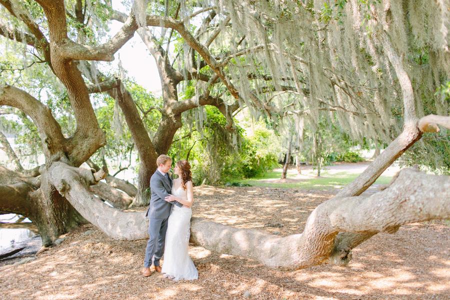 Cotton Dock wedding at Boone Hall Plantation in Charleston, SC