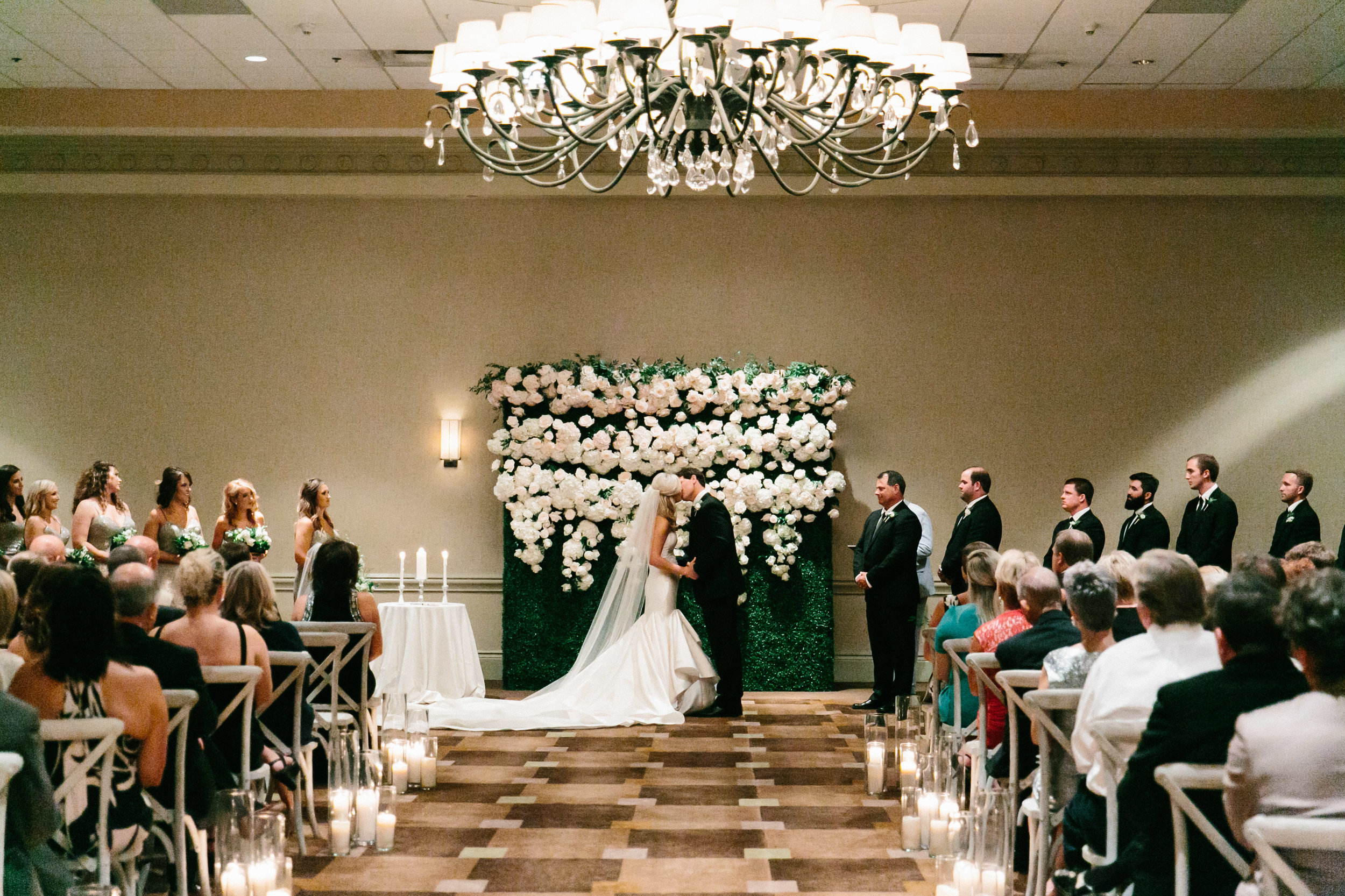 Westin Savannah Harbor Wedding in Georgia by Posh Petals & Pearls