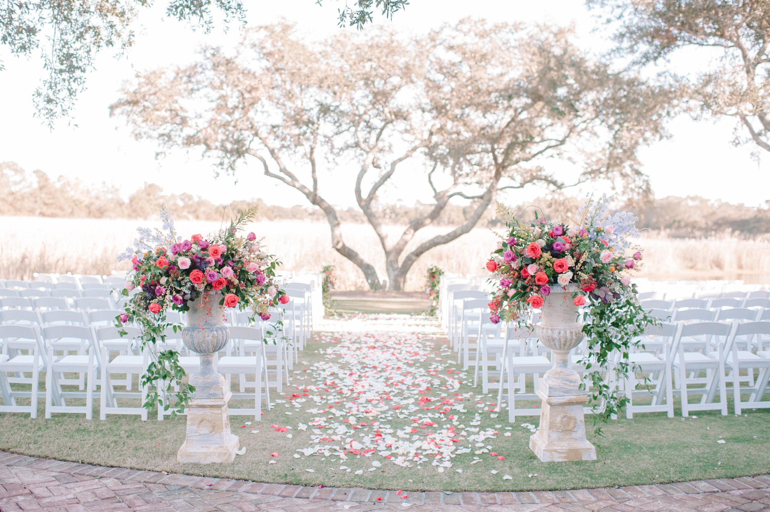 Plum DeBordieu Club wedding