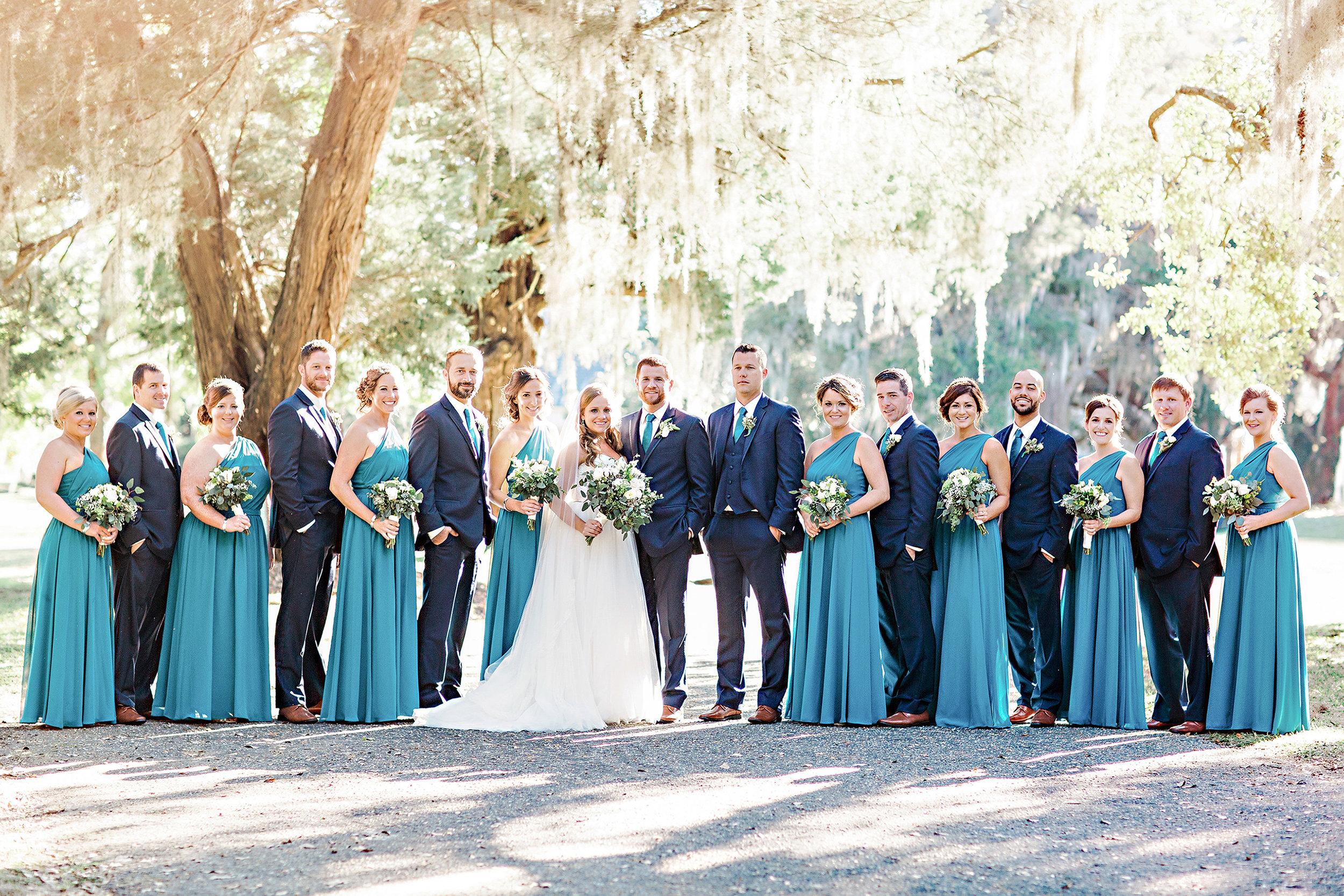 Ashton & Josh - Litchfield Plantation wedding