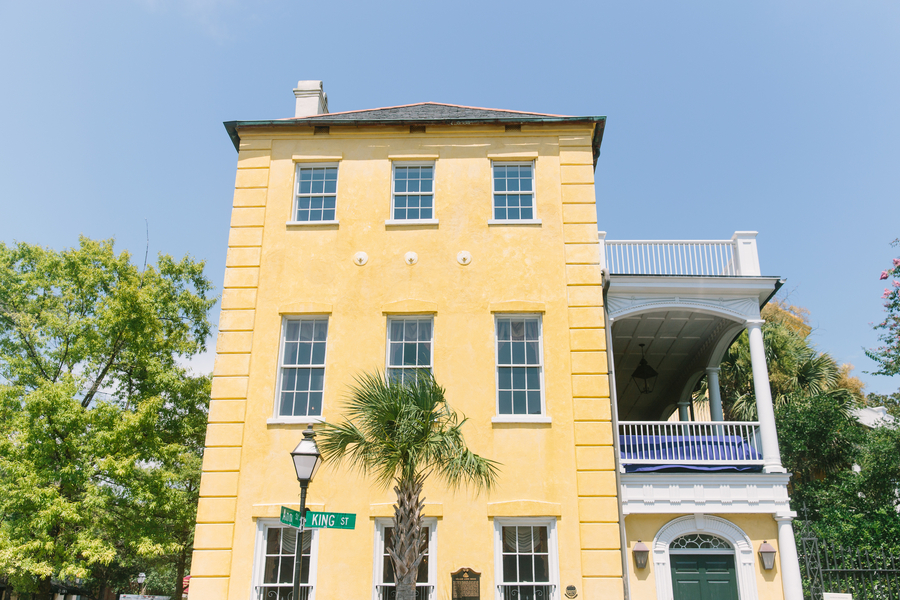 Summer destination wedding at The William Aiken House in Charleston, SC