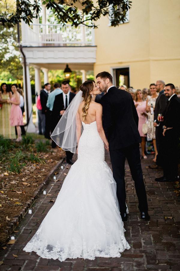 Modern William Aiken House wedding in Charleston, SC by Philip Casey Photography