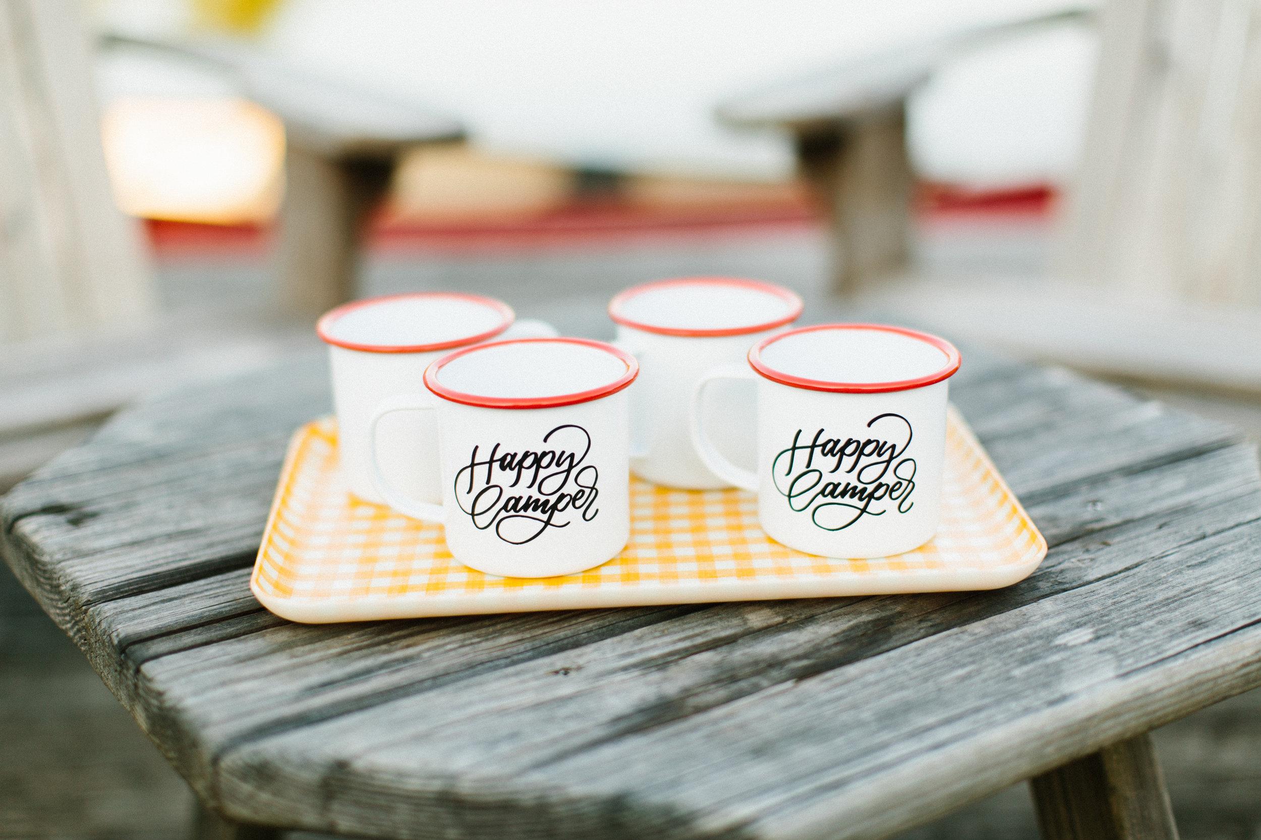 Happy Campers Wedding-inspiration at Lake House at Bulow