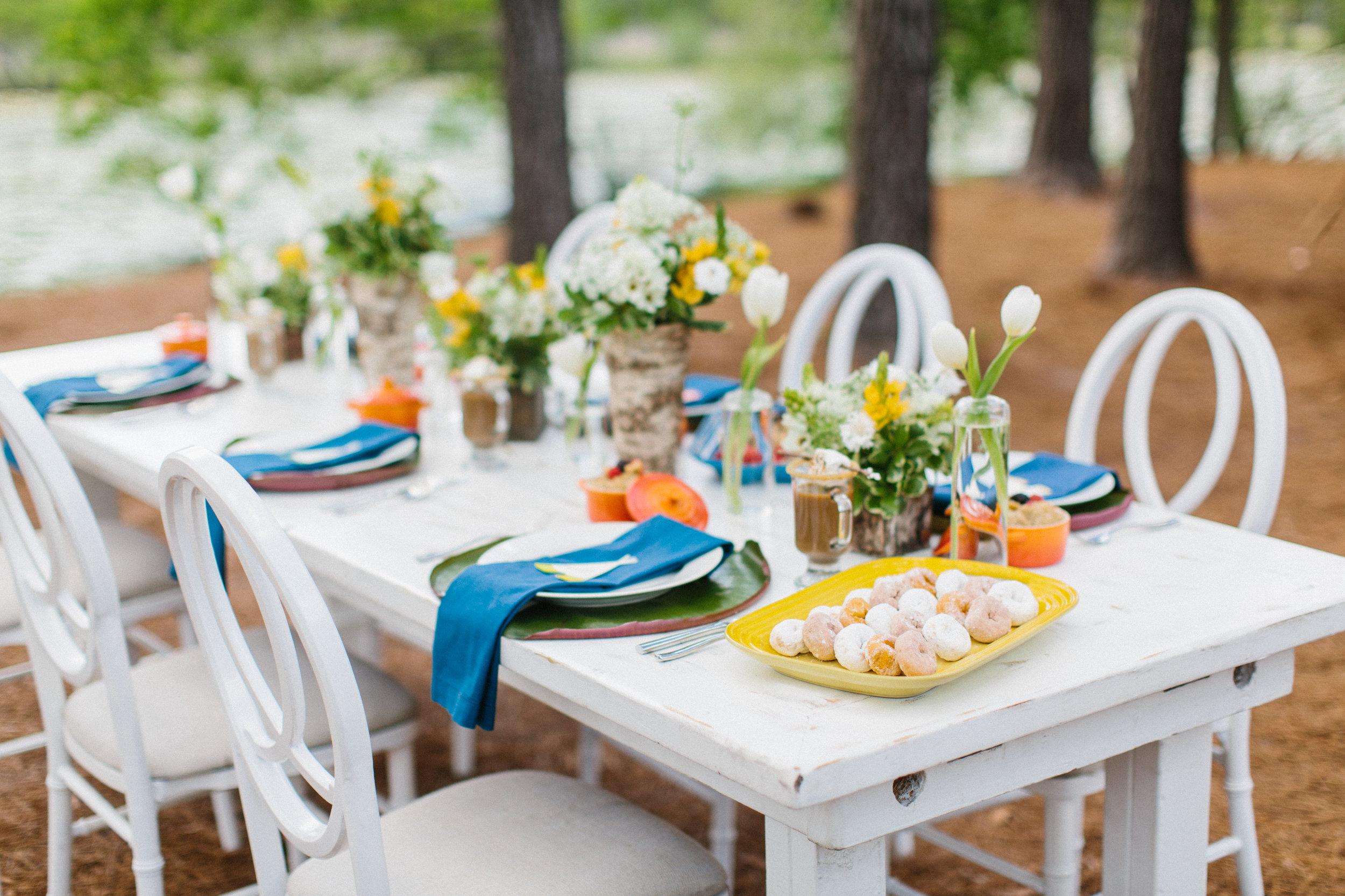Summer Camp Wedding-inspiration at Lake House at Bulow
