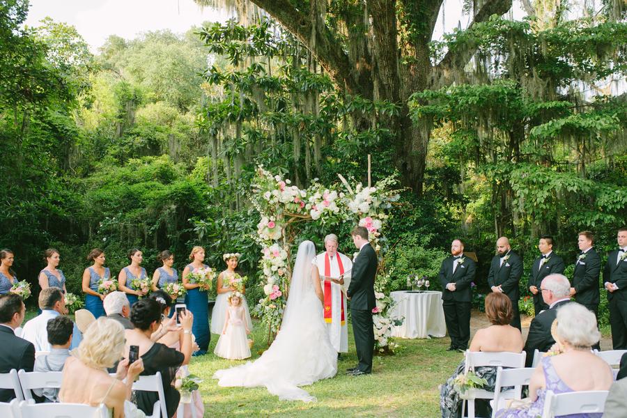 Magnolia Plantation and Gardens wedding by Cibi Events