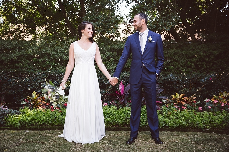 Charleston wedding at The Governor Thomas Bennett House
