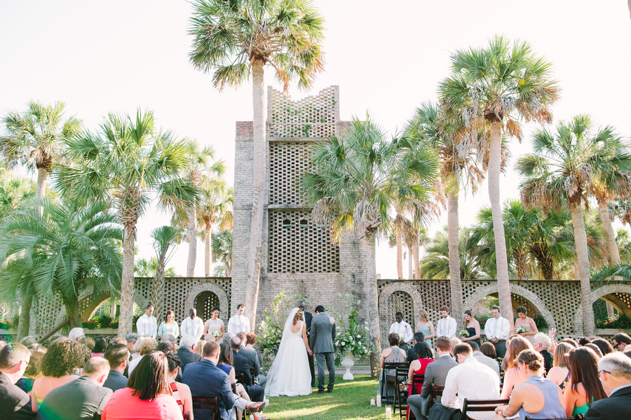 Myrtle Beach wedding at Atalaya Castle in Murrells Inlet, SC