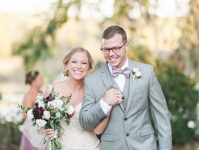 Lavender Charleston wedding at Magnolia Plantation & Gardens by Alex Thornton Photography