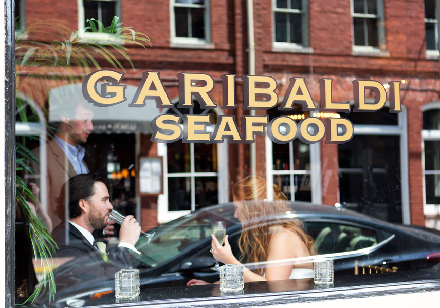 Brittany & Drew's Destination Savannah Wedding at Garibaldi Cafe in Georgia
