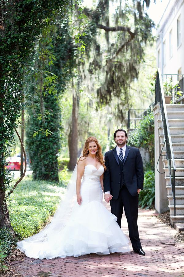 Brittany & Drew's Destination Savannah Wedding at Garibaldi's Cafe in Georgia