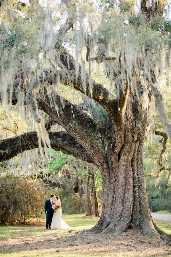 Spring Charleston wedding at Magnolia Plantation and Gardens //  Charleston wedding photography by Philip Casey Photography