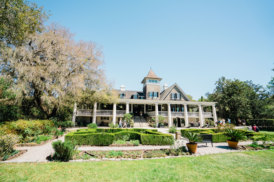 The Veranda at Magnolia Plantation & Gardens / Charleston wedding venue on A Lowcountry Wedding Magazine