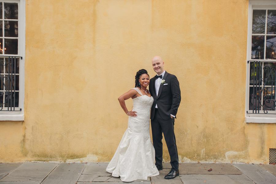 William Aiken House wedding portraits //  Charleston wedding photography by Richard Bell