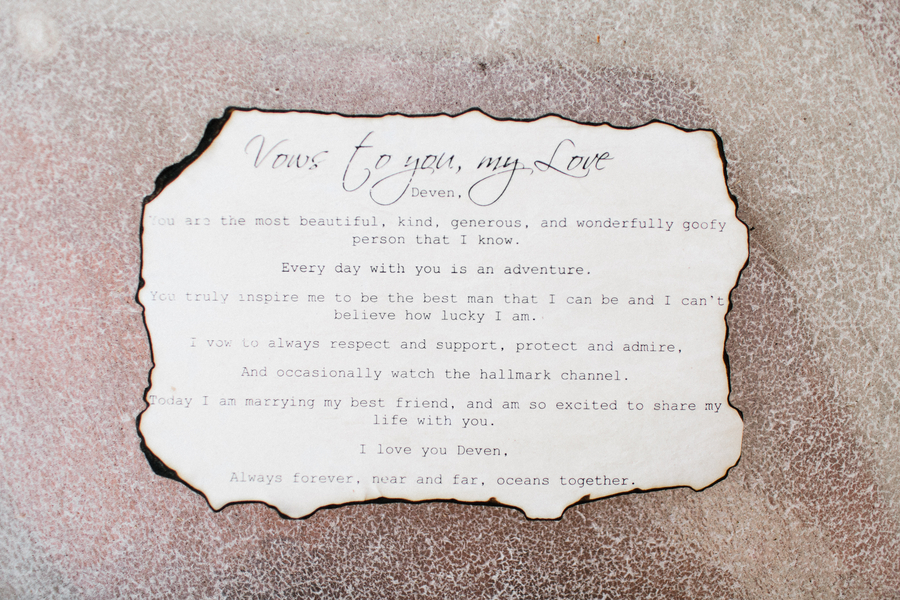 Wedding vows at King & Prince Resort wedding  //  Saint Simons Island, Georgia wedding venue  // A Lowcountry Wedding Magazine & Blog