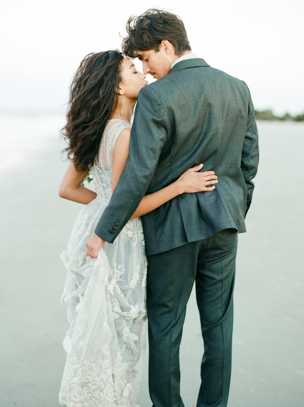 Seaside Savannah Wedding Elopement on Tybee Island, Georgia by Dee Carlin Photography  //  on A Lowcountry Wedding Magazine & Blog