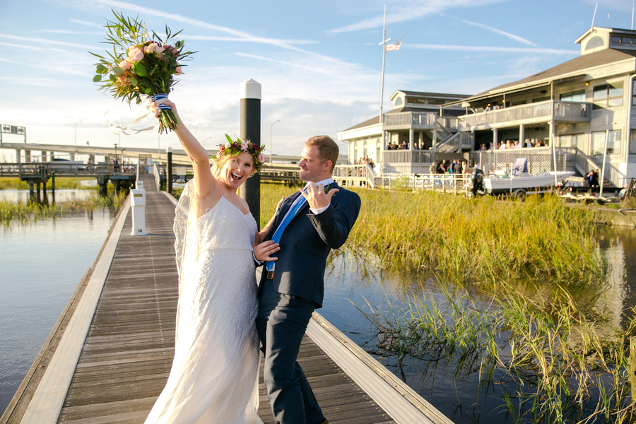Megan & Eric's Charleston Yacht Club wedding //  Charleston wedding photography by Jeanne Mitchum Photography // on A Lowcountry Wedding Magazine & Blog