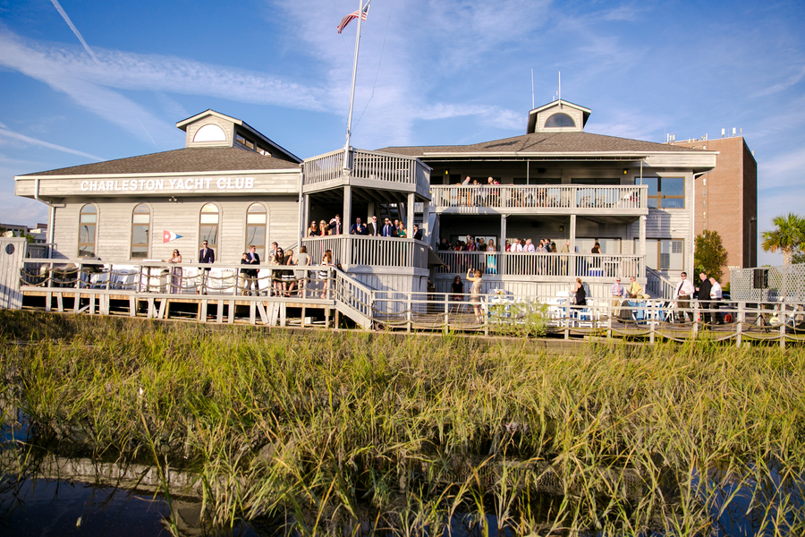Charleston Yacht Club //  Charleston, South Carolina Wedding Venue  // on A Lowcountry Wedding Magazine & Blog
