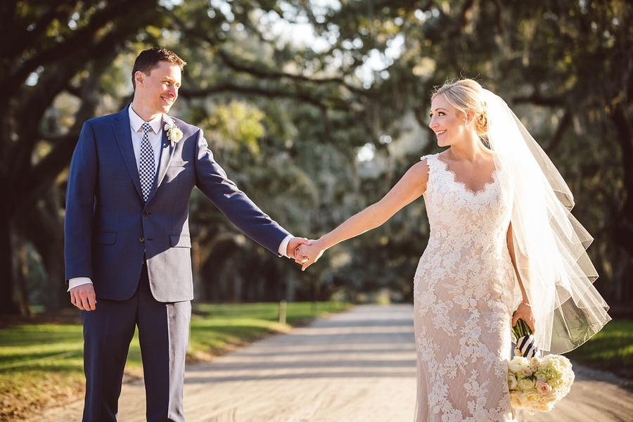 Wedding Portraits at Boone Hall Plantation  //  Charleston wedding photos by amelia + dan photography  //  A Lowcountry Wedding Magazine & Blog