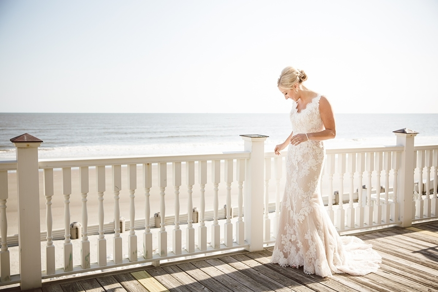 Destination bride in a lace Pronovias gown //  Charleston wedding photos by amelia + dan photography  //  A Lowcountry Wedding Magazine & Blog
