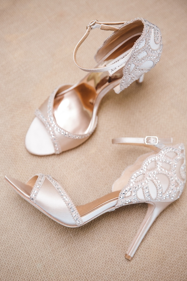 Champagne colored shoes  //  Charleston wedding photos by amelia + dan photography  //  A Lowcountry Wedding Magazine & Blog
