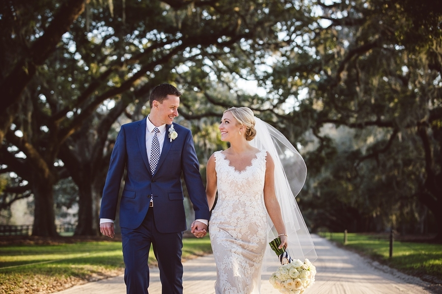 Lesley & Dan's Boone Hall Plantation wedding at The Cotton Dock  //  Charleston wedding photos by amelia + dan photography  //  A Lowcountry Wedding Magazine & Blog