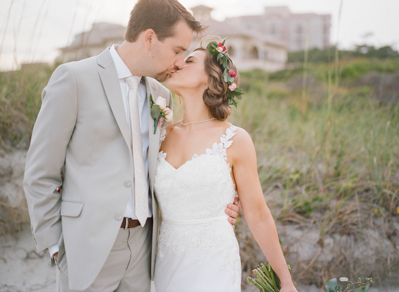 Wedding portraits at Grande Dunes Ocean Club  //  Myrtle Beach wedding photos by Gillian Claire Photography  //  A Lowcountry Wedding Magazine & Blog