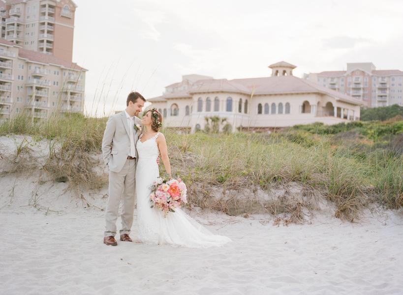 Sarah Bernhard & Michael Meginniss' Grande Dunes Ocean Club wedding in Myrtle Beach, South Carolina  //  A Lowcountry Wedding Magazine & Blog