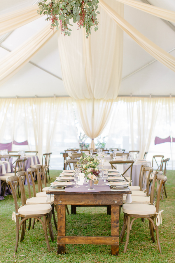 Tented reception at Oak Point Plantation wedding on Johns Island, SC  //  Charleston wedding photographer Riverland Studios  //  A Lowcountry Wedding Magazine & Blog