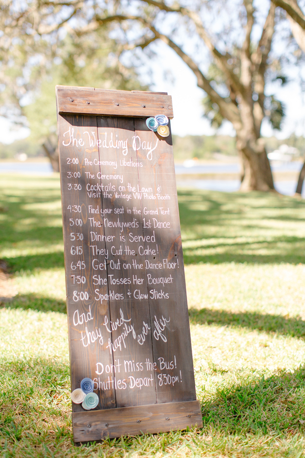 Outdoor ceremony at Oak Point Plantation  //  A Lowcountry Wedding Magazine & Blog