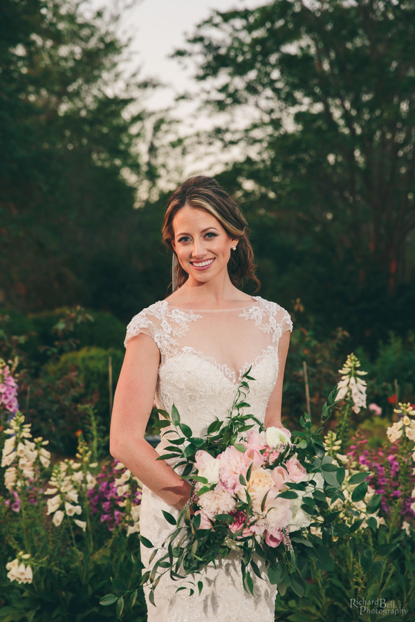 Bridal portraits at Boone Hall Plantation by Richard Bell Photography  //  A Lowcountry Wedding Magazine & Blog