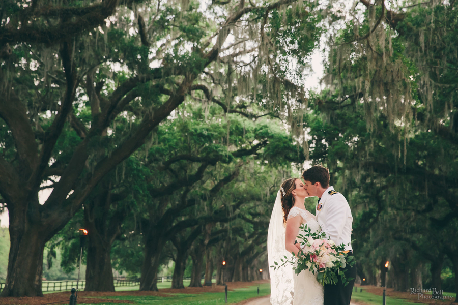 Cassandra & Tradd's Boone Hall Plantation wedding by Richard Bell Photography //  A Lowcountry Wedding Magazine & Blog