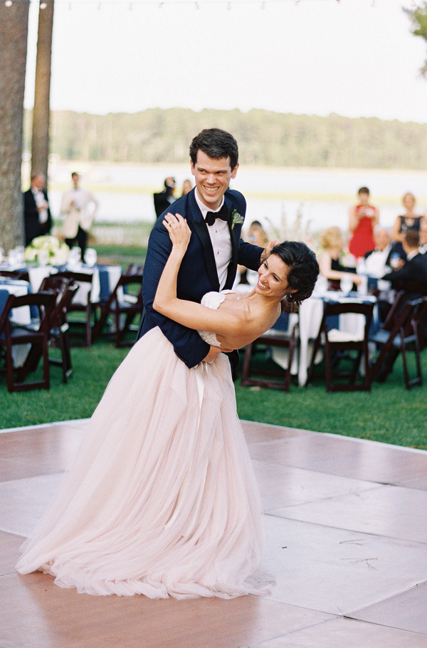 Bride and groom's first dance at Oldfield River Club  //  Hilton Head wedding photos by Christi Clark Photography  //  A Lowcountry Wedding Magazine & Blog