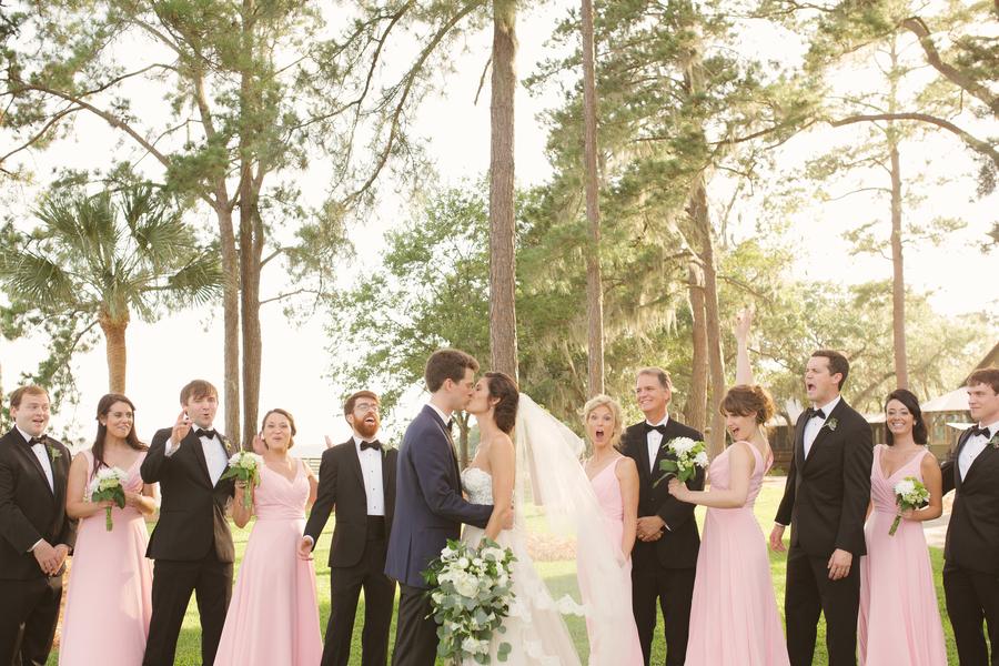 Bridal wedding portraits at Oldfield River Club  //  Hilton Head wedding photos by Christi Clark Photography  //  A Lowcountry Wedding Magazine & Blog
