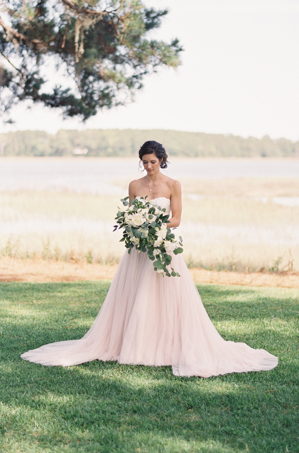 Bride wearing Martina Liana gown  //  Hilton Head wedding photos by Christi Clark Photography  //  A Lowcountry Wedding Magazine & Blog