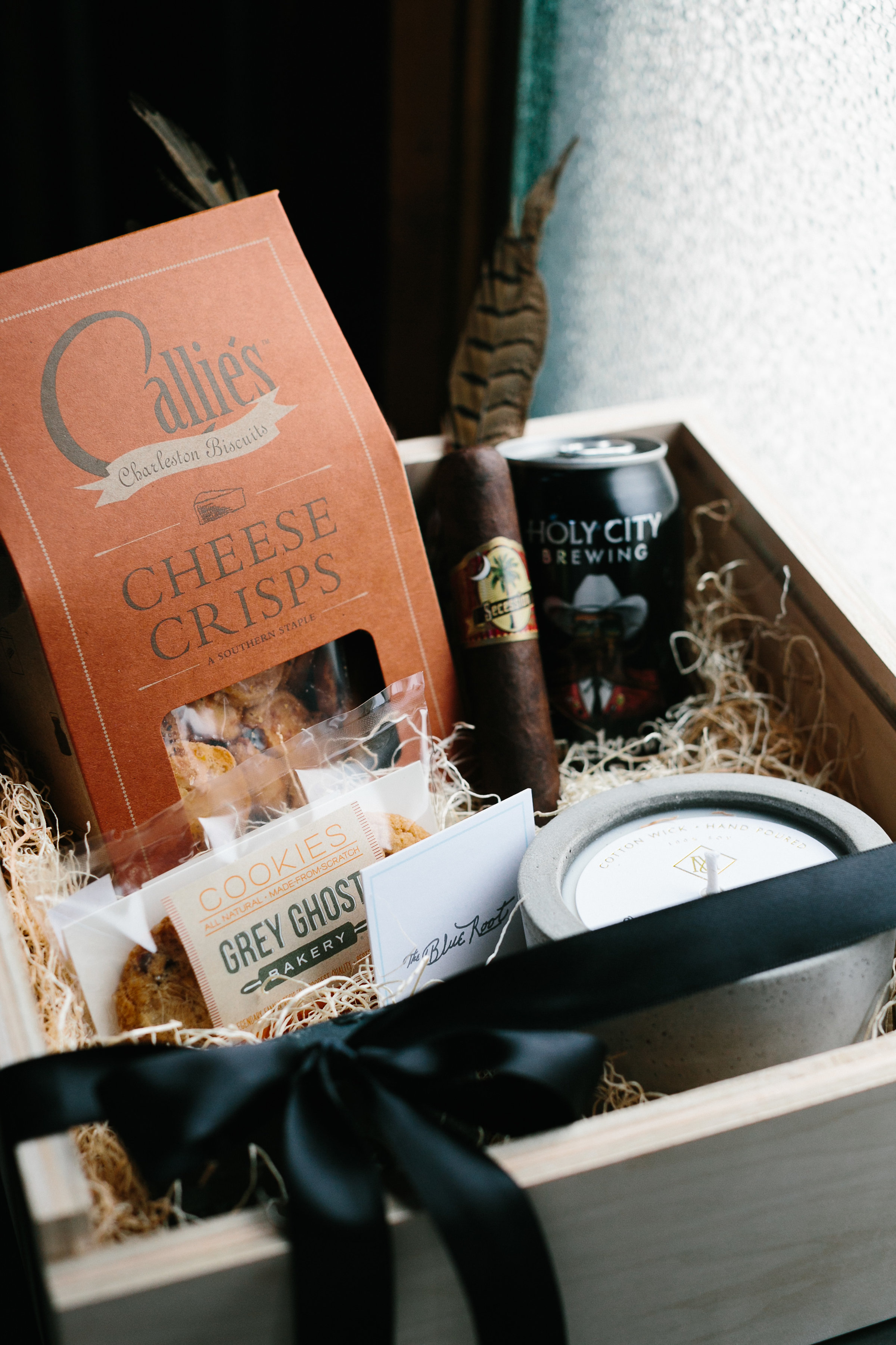 Groomsmen gift boxes by The Blue Root  //  Charleston photos by Elizabeth Ervin  //  A Lowcountry Wedding Magazine & Blog