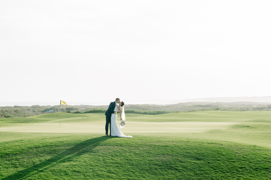 Emily & John's Kiawah Island wedding at The Ocean Course by Aaron & Jillian Photography
