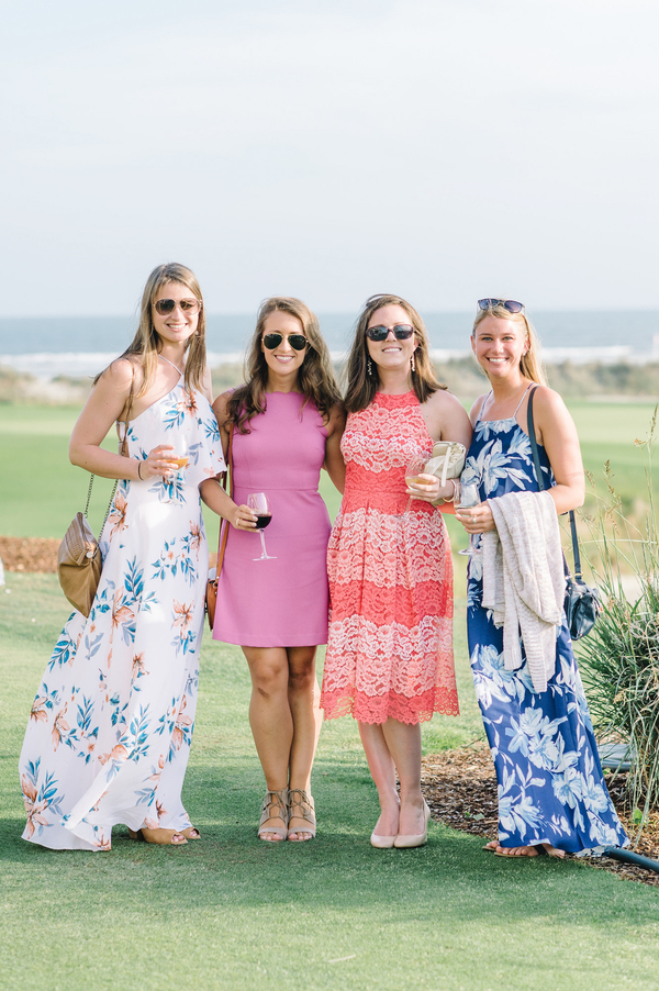 Kiawah Island wedding guest style at The Ocean Course